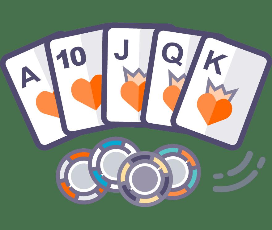 43 principais Online Texas Holdem sites de cassino no Portugal